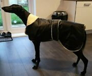 Whippet /greyhound Dog Coat Waterproof With Sherpa Fleece Inner 14 To 36 Inch