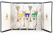 Imperial Collection Of Faberge Czar Imperial Wine Glasses, Set Of Three, Ed 1