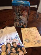 Beverly Hills 90210 Limited Edition Autograped Script Donna Doll And Shirt