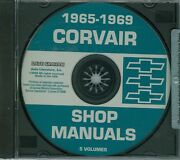1965 66 67 68 69 Corvair Shop Manuals On Cd