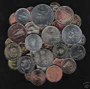 50 All Different 2000 Millennium Year Coin World Money Currency Collection Set