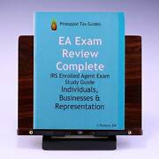 Ea Exam Review Complete Irs Enrolled Agent Study Guide By C. Pinheiro Ea