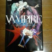 Art Book Of Ampire Hunter Darkstalkers Graphic File Ps2 From Japan F/s Used