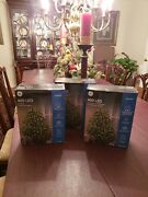 New Lot Of 3 Ge Staybright Tree Wrap 400 Led Lights Indoor Outdoor Christmas