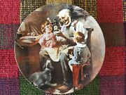 Norman Rockwell 1854 Knowles 'the Toy Maker' 1977 Collectible Plate 1st Edition