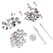63pcs Boat Marine Canvas Cover Snap Fasteners 15mm Screw Stud Button Socket