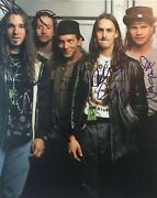 Pearl Jam Vintage Signed Photo Eddie Vedder Stone Jeff Mike Dave W Proof Coa