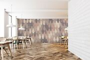 3d Crop Style Retro 2 Texture Tiles Marble Wall Paper Decal Wallpaper Mural Aj
