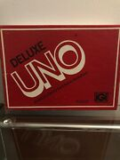 Vintage Deluxe Uno Family Card Game Igi 1978 Edition Classic