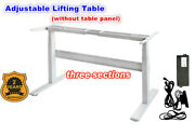 Flip Two-feet Three-section Electric Motor Lift Desk Table Column Mobile Office