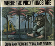 Where The Wild Things Are-maurice Sendak-1st/1st W/dj-1963-collectible Book