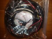 Vw Convertible Bug Beetle Complete Wiring Harness 1962-1964 Fender Turn Signals