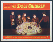 The Space Children Johnny Crawford Signed Giant Brain Sci-fi 1958 Best Lc