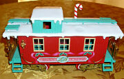 Train Car By New Bright Caboose Red Northern Woodland Express Line G Scale 1986