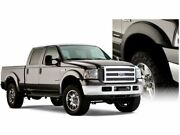 Front And Rear Fender Flares For 1999-2007 Ford F350 Super Duty 2005 2004 N541yd