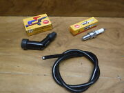 82-83 Honda Atc 185 S Atc185s Quality Ngk Spark Plug And Coil Wire And Plug Cap Boot