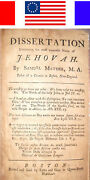 1760 Antique The Name Of Jehovah Samuel Mather Holy Bible Witnesses Cotton Jesus
