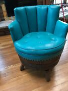 Whiskey Barrel Chairs Hand Crafted Authentic Cow Hyde Upholstery