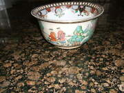 Heygill Imports Large 10 Hand Painted Asian Deep Bowl