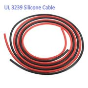 Blue/red/black 14awg Ul3239 Silicone Cable Flexible Wire 200℃ 3kv Tinned Copper