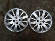 Pair Of 2 New 2009 09 2010 10 Cobalt 15 Hubcaps Wheel Covers Free Shipping 3285