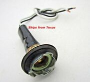 Light Bulb Socket Pigtail Single Contact With Ground Fits Older Chrysler