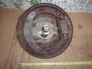 1948 Chevy Car Front Right Spindle Brake Backing Plate Steering Arm 1947 46 Oem