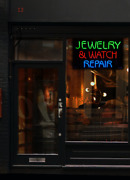 Jewelry And Watch Repair Neon Sign | Jantec | 32 X 20 | Pawn Shop Jewelers Wrist