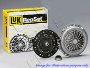 For Ford Escort Rs Cosworth 4x4 Genuine Luk 3pc Clutch Cover Disc Bearing Kit