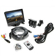 Rearview Safety 7 Lcd Backup Camera System W/rear And Side Cameras + Rear Sensors
