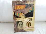 1970 Vintage Ece Bulb And Tubes That Doesnand039t Harm Eyesight Tin Sign Board Hungary