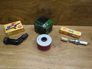 85-86 Honda Atc350x T Spark Plug And Oil Filter And Spark Plug Cap Boot Fast Free Sh