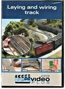 Kalmbach 15303 Model Railroader Laying And Wiring Track Dvd