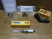1982 82 Honda Atc70 Atc 70 Breaker Points And Condenser And Spark Plug And Cap Boot