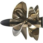 Volvo Penta T2 3861094 Duoprop Rear Nibral Propeller For Ips Drives 4 Blade