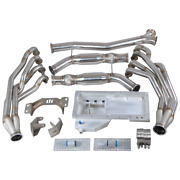 Cx Version2 Ls1 Engine T56 Trans Mounts Headers Y Pipe Oil Pan For 240sx S13/s14