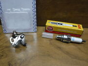 1982 82 Honda Atc70 Atc 70 Ignition Tune Up Contact Breaker Points And Spark Plug