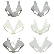Unpainted Upper Front Fairing Cowl Nose For Yamaha Yzf R1 2000-2014 09-11 12-14