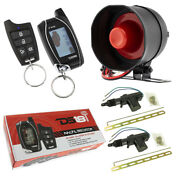Car Alarm Security System W/ Remote Start 2 Way Keyless Entry Lcd And 2 Door Locks