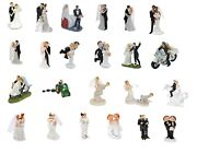 Wedding Cake Toppers - Bride And Groom Bride And Bride Groom And Groom Figurines
