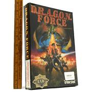 New/sealed Amiga Software/dragon Game D.r.a.g.o.n. Force Very Rare Interstel