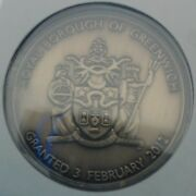 Exclusive Limited Rare Royal Borough Of Greenwich Coin 2012 Sealed Mint Tribute