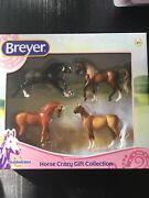 Breyer Stablemates Horse Crazy Gift Collection Four Horses In Box New