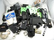 Lot Gun / Pistol Holsters / Belt Keepers / Cases / Pouches Various Makes / Model