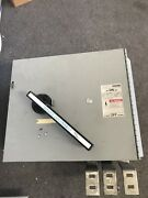 Reconditioned Mv7h3206ms Siemens Fusible Panel Main Switch 600 Amp 240 Volt