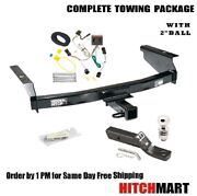 Class 3 Trailer Hitch Package W 2 Ball For 2002-2007 Jeep Liberty  87006