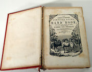 Antique 1856 Complete Guide Hand Book Farmers Emigrants Recipes Cookery Laws