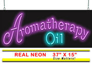 Aromatherapy Oil Neon Sign | Jantec | 37 X 15 | Health Mind And Body Relaxing