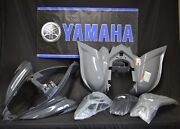 Raptor 700 Plastics Genuine Yamaha Fenders Complete Set 2006-2020 Gray