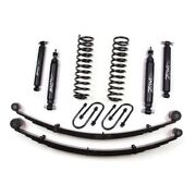 Zone Offroad J21n 3 Front And Rear Suspension System With Rear Leaf Springs